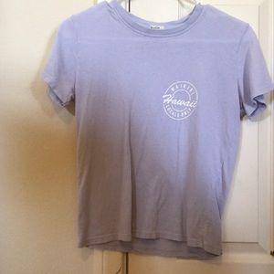 Blue brandy Melville Hawaii t-shirt